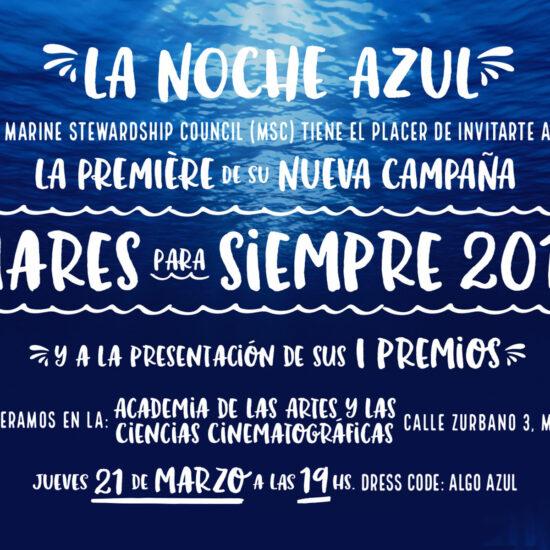 """""""La Noche Azul"""" - Marzo 2019"""