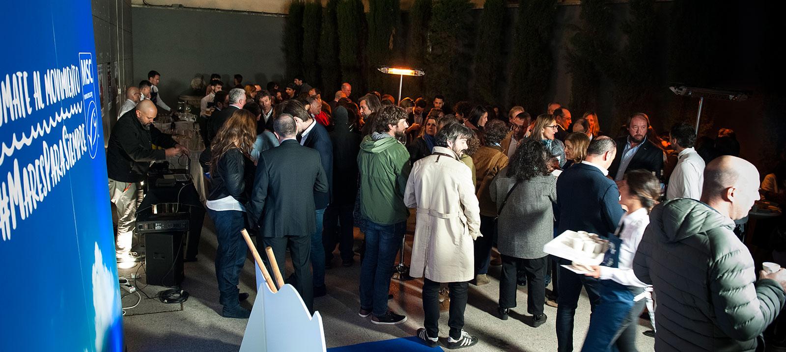 """Catering durante """"La Noche Azul"""""""