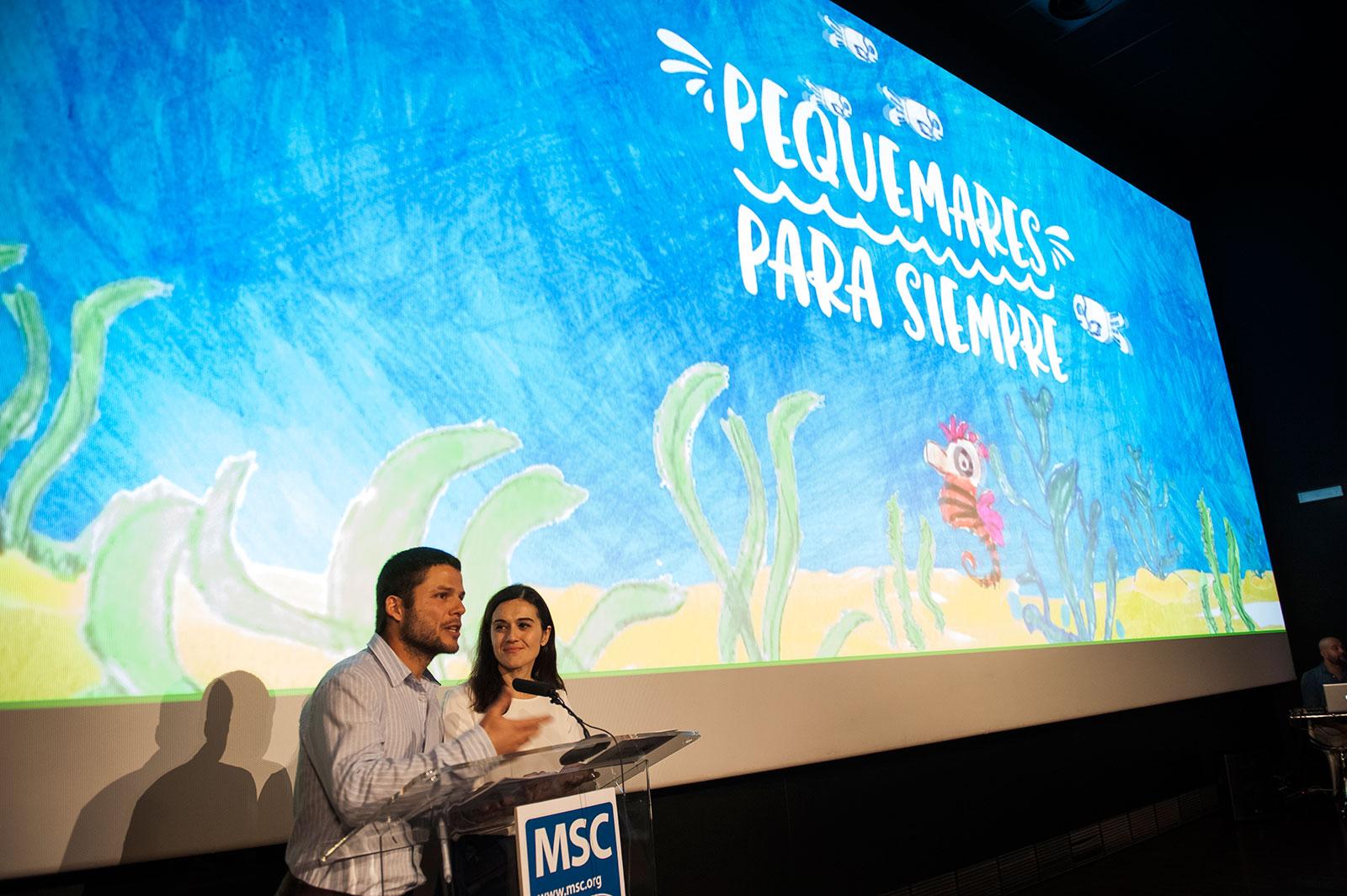 Presentación campaña #MaresParaSiempre