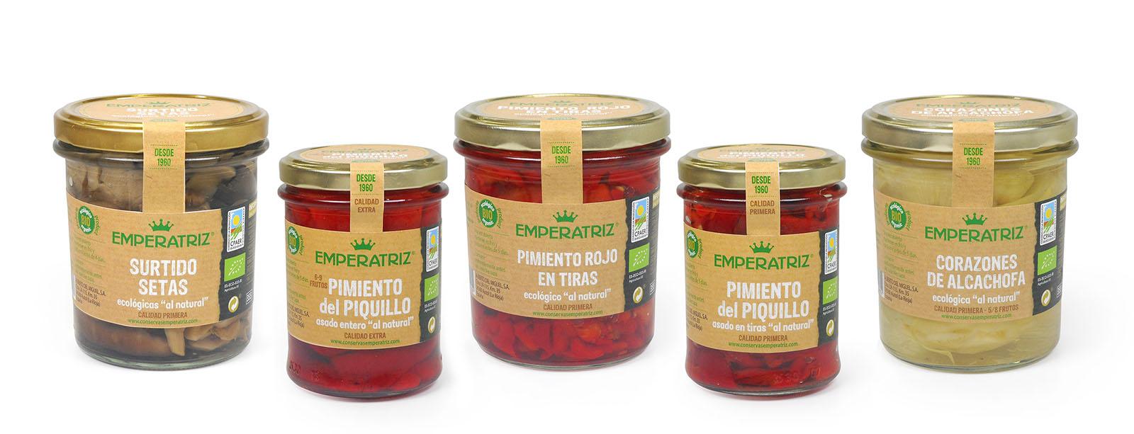 Gama productos ecológicos con nueva etiqueta