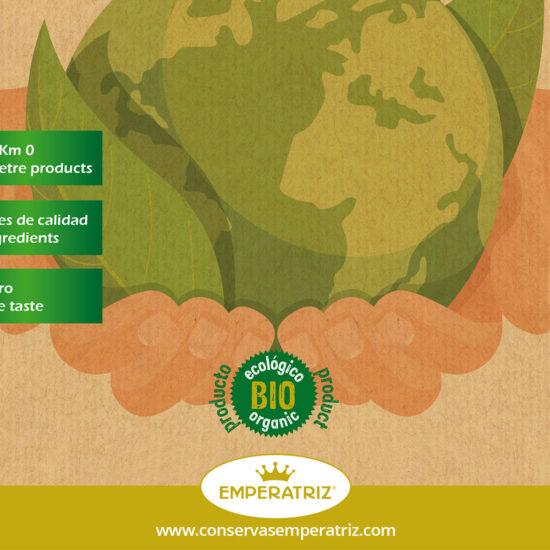 Emperatriz - Catálogo de conservas ecológicas - Portada